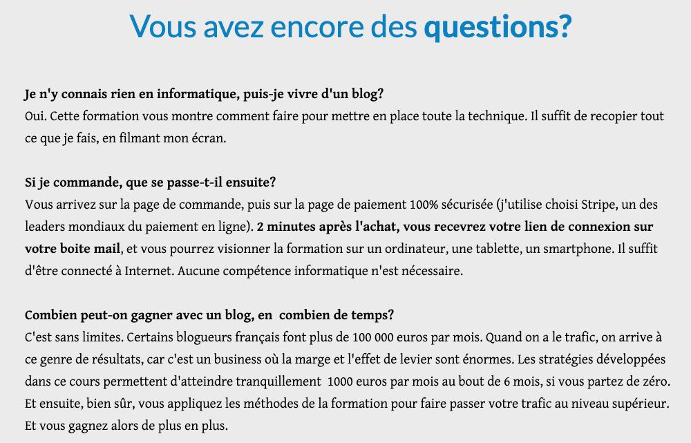 FAQ André Dubois - TraficMania
